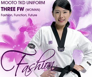 MOOTO 3FW (woman) taekwondo uniform