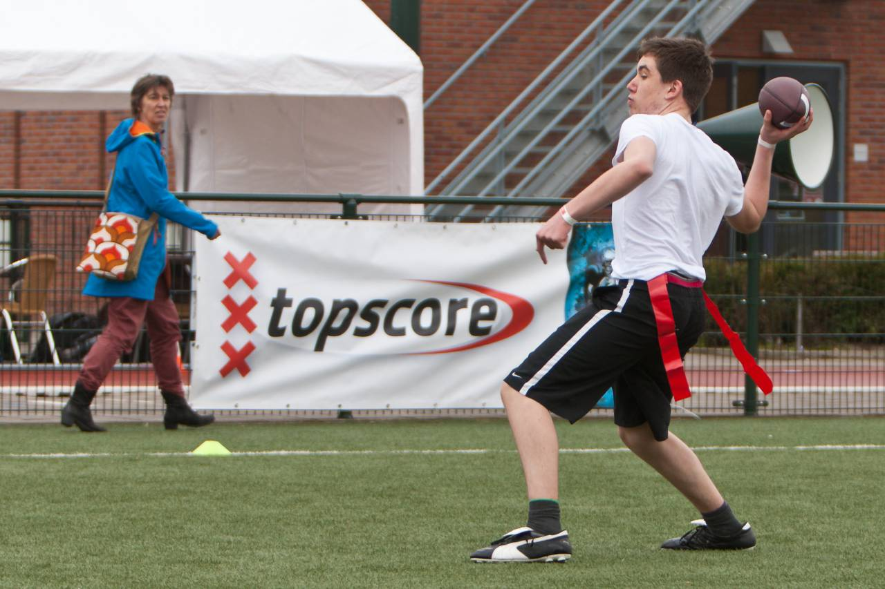 Topscore Finals 2013, Flag Football