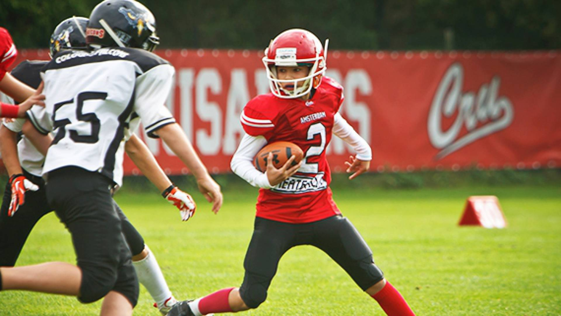 Dutch Junior Lions 26-32 Cologne Falcons