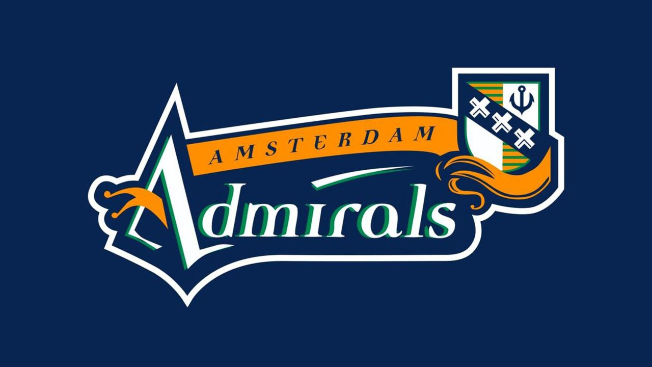 Six dutchmen to go to Admirals training camp